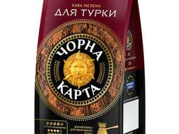 Кофе молотый Черная карта Для турки 70 г в мягкой упаковке
