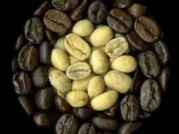 Натуральный зеленый и жаренный кофе (зерно и молотый)