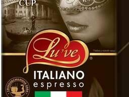 Кофе натуральный жареный молотый Lu've Italiano Espresso