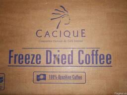 Кофе сублимированный Касик Cacique вес 25, 28 кг в ящике Вся