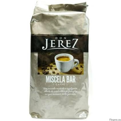Кофе в зернах Don Jerez 1 кг Италия