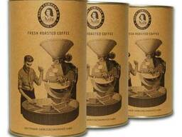 Кофе в зернах ( молотый) в тубусе ТМ НАДИН 200г