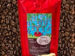 Кофе в зернах свежей обжарки Эфиопия Сидамо Gr 4 100 гр