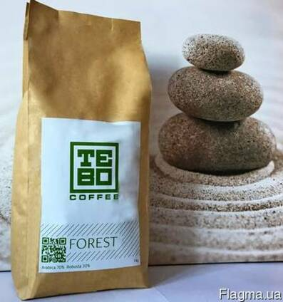 Кофе в зернах TeBo coffee купаж Forest