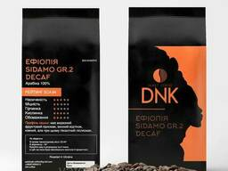 Кофе в зёрнах Арабика 100% Эфиопия Sidamo Gr.2 Decaf без. ..