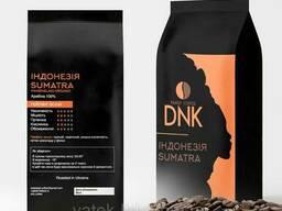 Кофе в зёрнах Арабика 100% Индонезия Sumatra Mandheling. ..