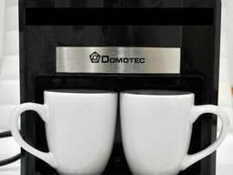 Кофеварка Domotec MS-0708 500W две чашки