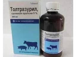 Толтразурил 5% 200мл для поросят и телят