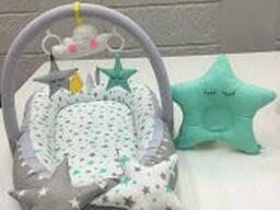 Кокон гнездышко позиционер для детей Happy Luna с. ..