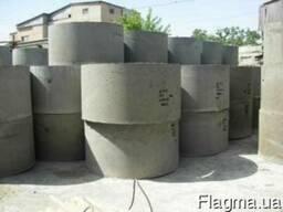 Кольца бетонные. 1м, 1.5м, 2 м. Отличное качество. Приемлемы