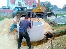 Кольца бетонные для колодца, септика