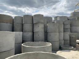 Кольца бетонные для колодцев стеновые