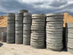Кольца бетонные для колодцев, канализации, выгребной ямы, ЖБ - фото 4
