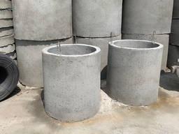 Кольца бетонные для колодцев, канализации, выгребной ямы, ЖБ - фото 5