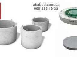 Кольца бетонные, септик, сливная яма под ключ, еврозабор