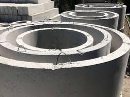 Кольца для канализации д. 1, высотой 0.6, 0.9 и 1.2