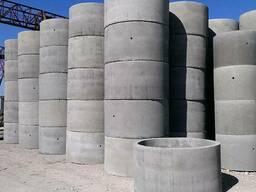 Кольца для колодцев бетонные купить