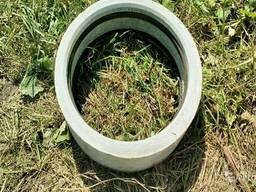 Кольца канализационные полимерно-бетонные