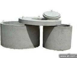 Кольца железобетонные для колодцев, канализации Одесса и обл