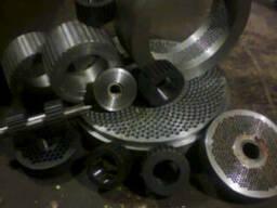Матрицы плоские для плоскоматричных грануляторов