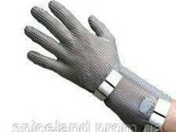 Кольчужна рукавичка 5-пала з відворотом 7,5 см