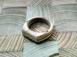 Кольцо из дерева береза, ольха