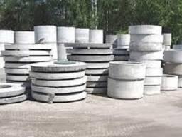 Колодезные крышки бетонные