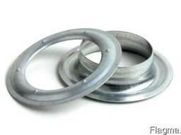 Кольцо, люверс 20 мм-1000шт оцинкованний. Тентовая фурнитура