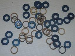 Кольцо под бочата резиновое двигателя 1Д12, 1Д6, 3Д6, Д12,