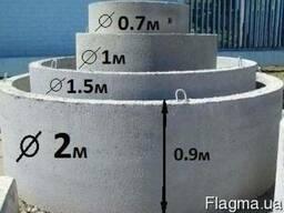 Днище железобетонное 1,5 м. Н 150 мм.