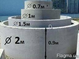 Кольцо железобетонное 0,7м. Н 600 мм.