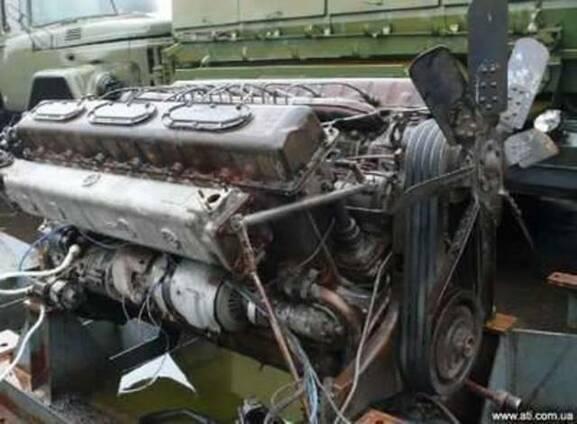 Коленчатый вал на двигатель 1Д12