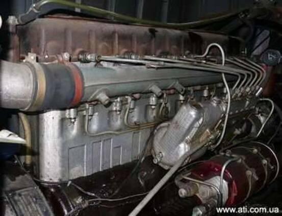 Коленчатый вал на двигатель 1Д6