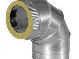 Колено - отвод 90 градусов материал ц\н 0,5 мм диаметр. ..
