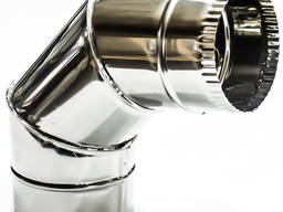 Колено (угол) 87º из кислотостойкой нержавеющей стали