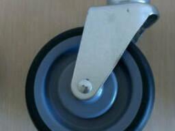Колеса для покупательских тележек 125 мм