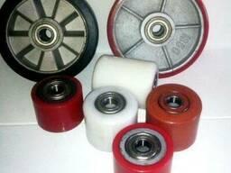Ролики полиуретановые для роклы (рохли) 80 мм диаметр