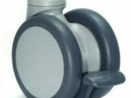 Колеса с тормозом, нагрузка до 70 кг. Steincko Германия диаметр 65 мм