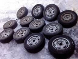 """Колеса """"Жигулі"""" диск гума в хорошем состоянии пара"""
