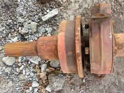 Колесная пара телеги грузовой - фото 3
