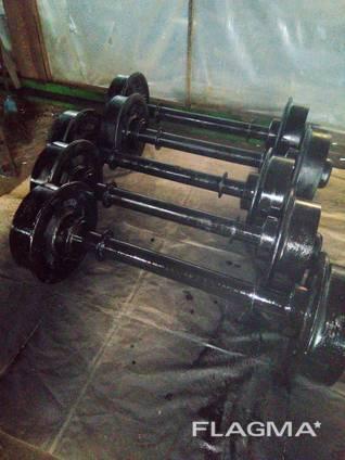 Колесные пары для шахтных вагонеток