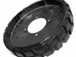 Колесо обрезиненное зернометателя