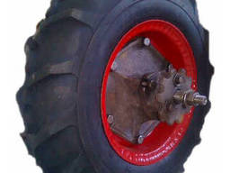 Колесо с шиной(колесо опорное колпачек) н 130. 02. 000