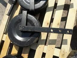 Колесо в сборе с стойкой для однорядной картофелекопалки - фото 2