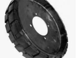 Колесо зерноочисних машин ОВС-25, (ЗМ-60/90), також бандаж (резина)