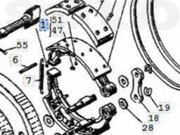 Колодка Т-150 тормозная 151.38.049А (старого обр. )