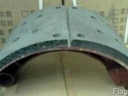 Колодка тормозная задняя в сборе Shaanxi F3000 DZ9112340061