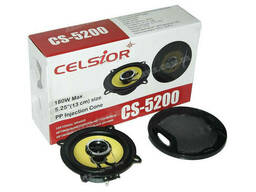 Колонки Celsior 5200yellow 13см (компл. )