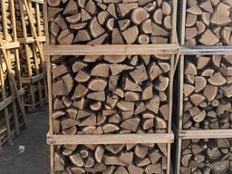 Колотые дрова (дуб, граб, ясень)