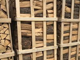 Колотые дрова в ящиках дубовые ОПТ